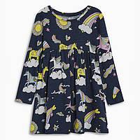 Детское платье для девочки Единороги