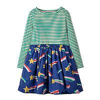 Платье хлопковое детское для девочки Падающая Звезда