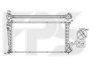 Радиатор Пежо 306 / PEUGEOT 306 (1993-1997)