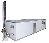 Модульная котельная на твердом топливе 300 — 1000 кВт пеллетная