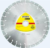 Алмазный отрезной круг Klingspor DT600U 230 x 2.6 x 22.23 мм 30 сегментов 20 x 2.6 x 9 короткозубчатый 322634