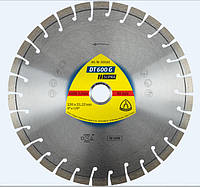 Алмазный отрезной круг Klingspor DT600G 230 x 2.6 x 22.23 мм 30 сегментов 20 x 2.6 x 9 короткозубчатый 325162