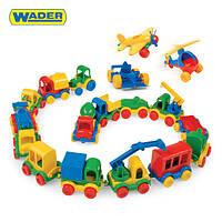 """Детские машинки Wader серии """"Kid Cars"""" - каждая машинка отдельно"""