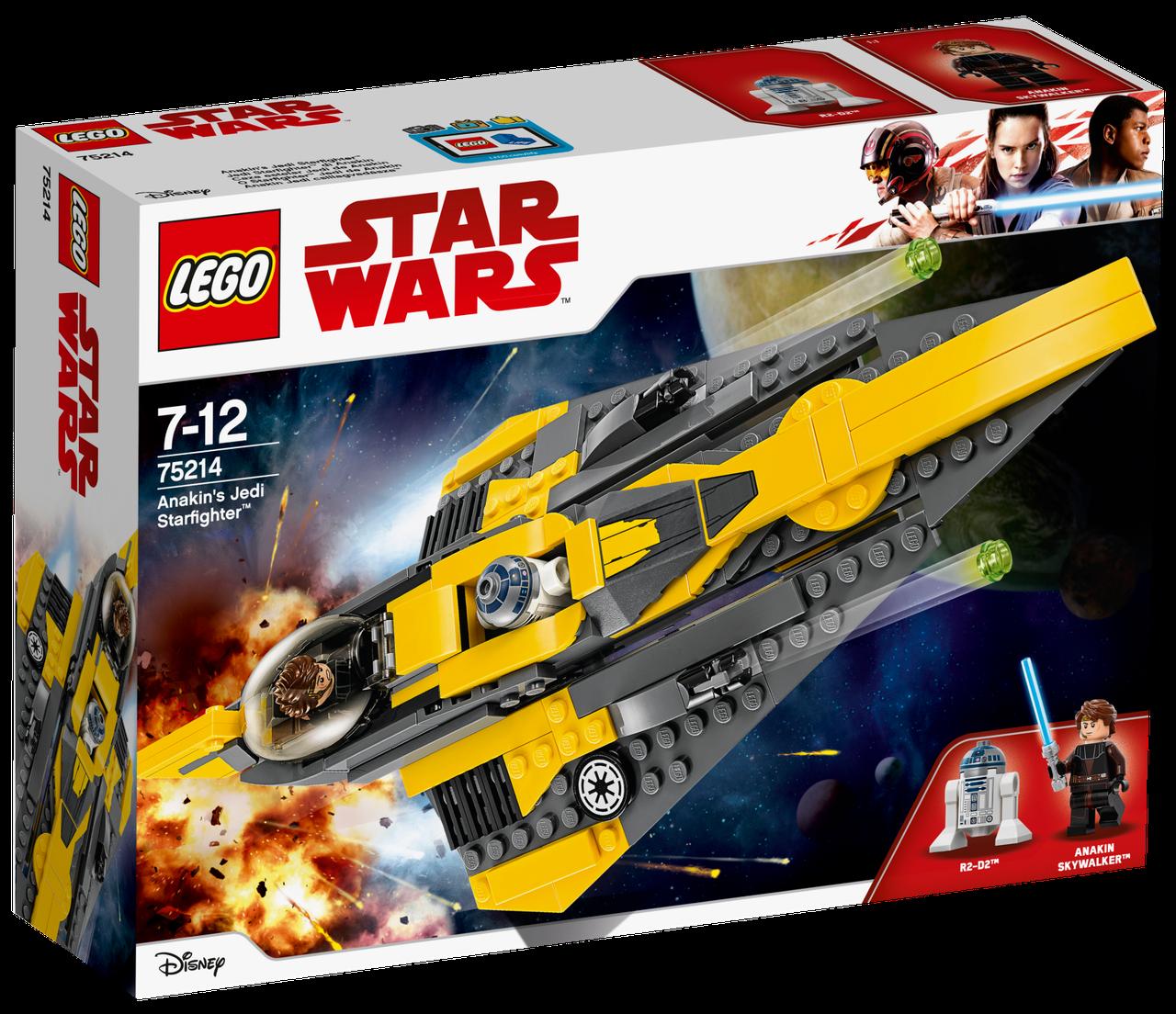 Lego Star Wars Джедайский истребитель Энакина 75214
