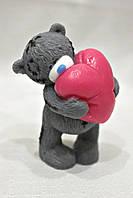 """Мыло ручной работы """"Мишка Тедди с сердцем"""""""