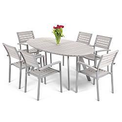 Садовая мебель Lorenzo Silver\Grey