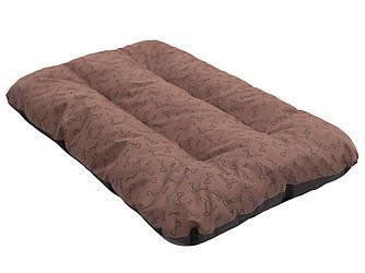 """Спальный матрас 90x60 R1 светло-коричневый  в """"косточки"""""""
