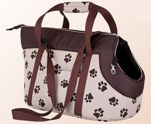 Сумка-переноска  для кошек или собак HOBBYDOG небольшая 36x20x22 см