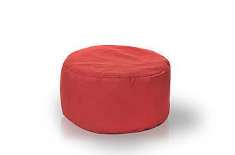 Пуф 40 x 65 см  красный