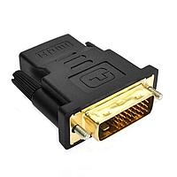 Переходник Adapter DVI-HDMI мультимедийный Черный (AC-4419)