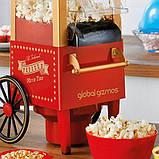 Для приготовления попкорна Global Gizmos 50300 Fun Fairground Party Maker Machine, 0,27 литра, 1200 Вт,, фото 3