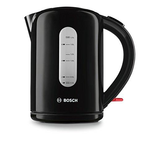 Чайник Bosch TWK76033GB Village Collection, 1,7 л, чорний