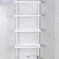 Полки Keraiz New 1859 4 уровня Кухня Ванная комната Хранение Регулируемая высота