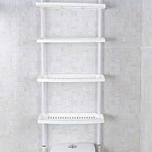 Полиці Keraiz New 1859 4 рівня Кухня Ванна кімната Зберігання Регульована висота