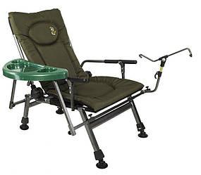 Рыболовное кресло Elektrostatyk F5R + столик и держатель удилища