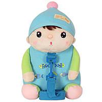 Рюкзак детский Кукла, голубой Metoys для девочки