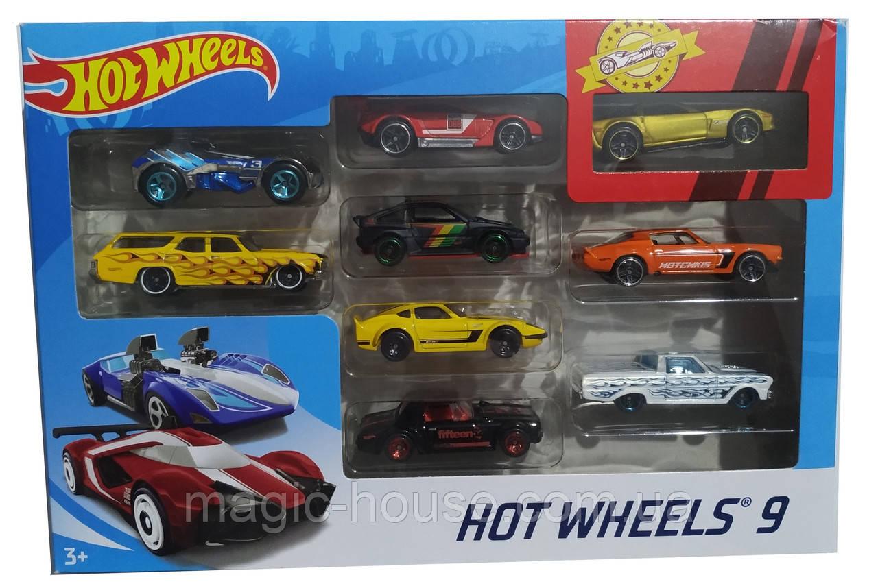 Хот Вилс Набор из 9 машинок Hot Wheels Оригинал от MATTEL