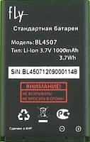 Аккумулятор для Fly EZZY 4 оригинальный, батарея BL4507