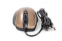 Мышь GOLDEN FIELD  M012G USB коричневая