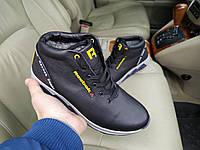 Мужские зимние кожаные кроссовки  Reebok Crossfit, фото 1