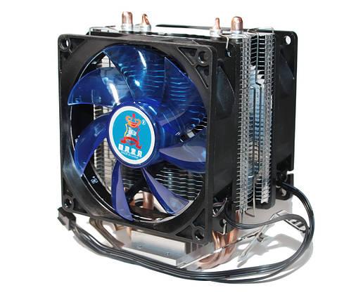 Кулер для процессора Cooling Baby R90 BLUE LED2 LGA 1150/1151/1155/1156/775, FM1/FM2/AM2/AM2+/AM3/AM3+/AM4, фото 2
