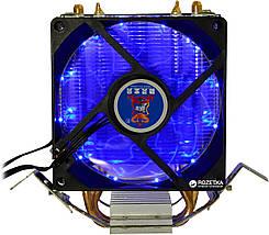 Кулер для процессора Cooling Baby R90 BLUE LED2 LGA 1150/1151/1155/1156/775, FM1/FM2/AM2/AM2+/AM3/AM3+/AM4, фото 3