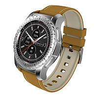 Умные часы King Wear KW28 с поддержкой SIM и карт памяти (Серебристый)