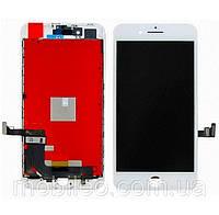Дисплей (LCD) Apple iPhone 8 Plus с тачскрином, белый оригинал (PRC)