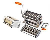 М31 тестораскаточная машинка-лапшерезка для макарон и равиоли 3в1