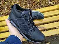 Мужские кожаные зимние кроссовки ,  ботинки NB, фото 1