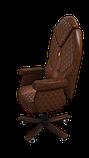 Эргономичное кресло KULIK SYSTEM DIAMOND Коричневое (101), фото 3