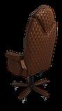 Эргономичное кресло KULIK SYSTEM DIAMOND Коричневое (101), фото 4