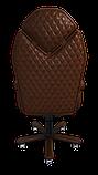 Эргономичное кресло KULIK SYSTEM DIAMOND Коричневое (101), фото 5