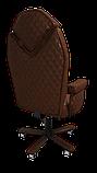 Эргономичное кресло KULIK SYSTEM DIAMOND Коричневое (101), фото 6
