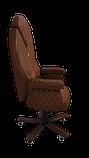 Эргономичное кресло KULIK SYSTEM DIAMOND Коричневое (101), фото 7