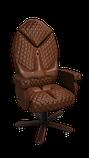 Эргономичное кресло KULIK SYSTEM DIAMOND Коричневое (101), фото 8