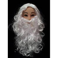 Набор Санта Клауса (парик и борода)
