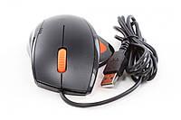 Мышь GOLDEN FIELD  M02 USB черно-оранжевая