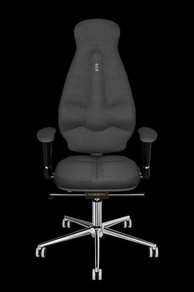 Эргономичное кресло KULIK SYSTEM GALAXY Серое (1107)