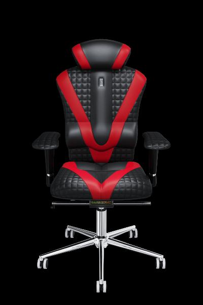Эргономичное кресло KULIK SYSTEM VICTORY Черное с красным (801)