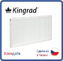 Стальной радиатор Kingrad 11 тип 500*500 боковое подключение