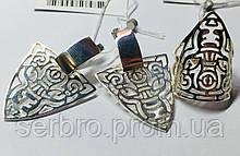 Стильный серебряный гарнитур Сафари
