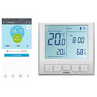 WiFi термостат для теплого пола - терморегулятор с LCD дисплеем POER PTC26