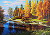 Осенний пейзаж картины. Картина осеннего пейзажа