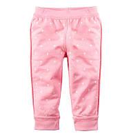 Детские розовые брюки для девочки Горошек, Jumping Beans