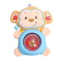Игрушка - погремушка Обезьянка для малыша