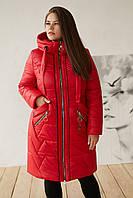 Куртка женская зимняя  недорого в интернет магазине с мехом от производителя в Украине, фото 1