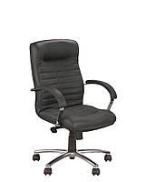 Кресло компьютерное с низкой спинкой Орион (Orion) LB MB steel chrome Новый Стиль LE-A