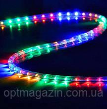 Гирлянда шланг ул  ЛЕД длина 10 м 6 режимов цветовая гама синий зеленый мультик белый красный желтый