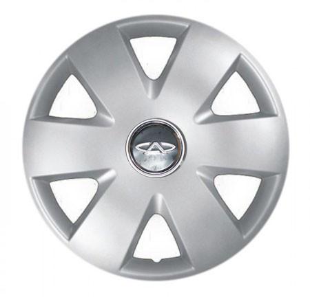 "Колпаки для колес 15"" c логотипом автомобиля 4 шт (SKS 308) Чери"